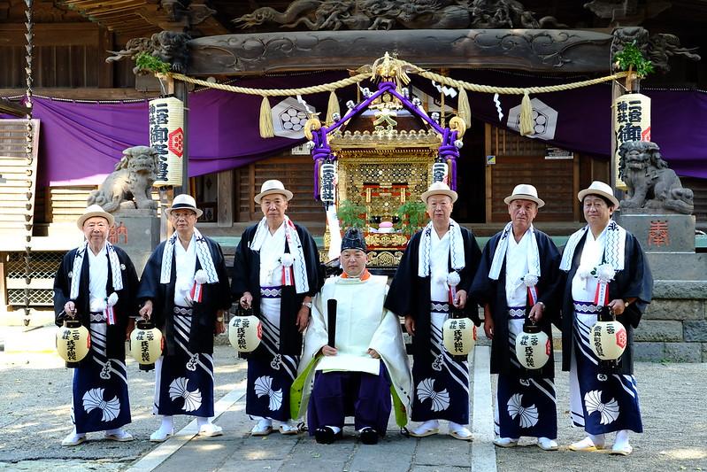 2015-9-12 下総三山神社七年祭り準備
