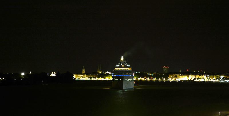 Arrivée du paquebot AMADEA, Bordeaux, 15 septembre 2015