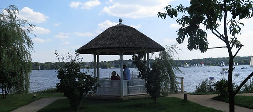 lake berlin garden see haus painter villa impressionism garten wannsee maler maxliebermann teepavillon