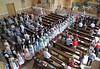 Beim Festgottesdienst in der Billeder katholischen Kirche