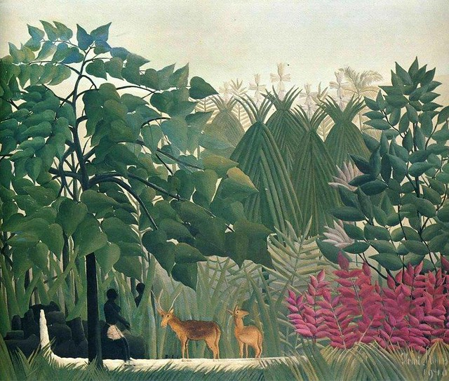 Rousseau - La cascata