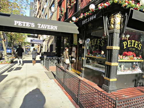 Pete's Tavern, 129 E. 18th Street, New York City, frequented by nearby resident O. Henry and arguably the oldest tavern in continuing use in New York City. | by John Wisniewski