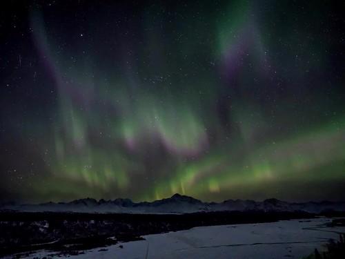 Aurora Borealis Time-Lapse