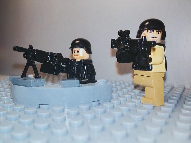 #M249 #SAW and M249 SAW #Para from #Brickarms @Brickarms | #Lego #Guns #Toy #Toys