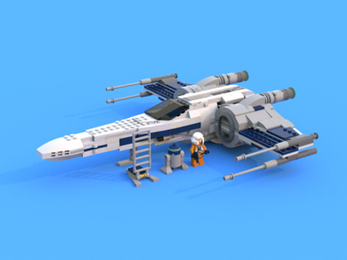 Incom T-70 X wing Starfighter lxf picture | by Armstrong X-Wing