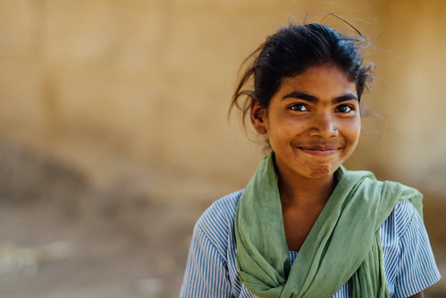 Teenage Girl, Gujarat India | by AdamCohn