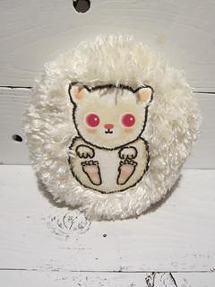 Albino Hedgehog Plush