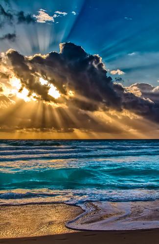 southpointebeach miamibeach seashore sobe beachscape beach blue walking waterways skies clouds exploration earlyinthemorning neighborhood