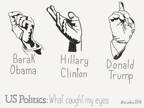 Hands of #UsPolitics - What caught my eyes | by xLontrax