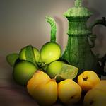 Quinces and lemons