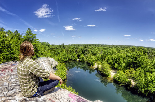 freetown massachusetts unitedstates fallriver assonetledge ledge quarry forest stateforest hdr landscape granite legendtripping meditation