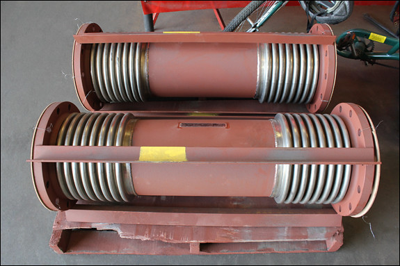 "10"" Dia. Universal Expansion Joints for HVAC Service in California"