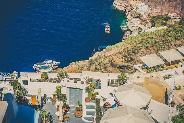 Fira Santorini, Cyclades Greece
