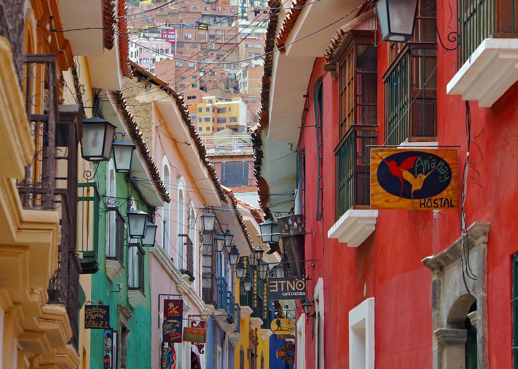 Up and down - Calle Jaen La Paz - Bolivia