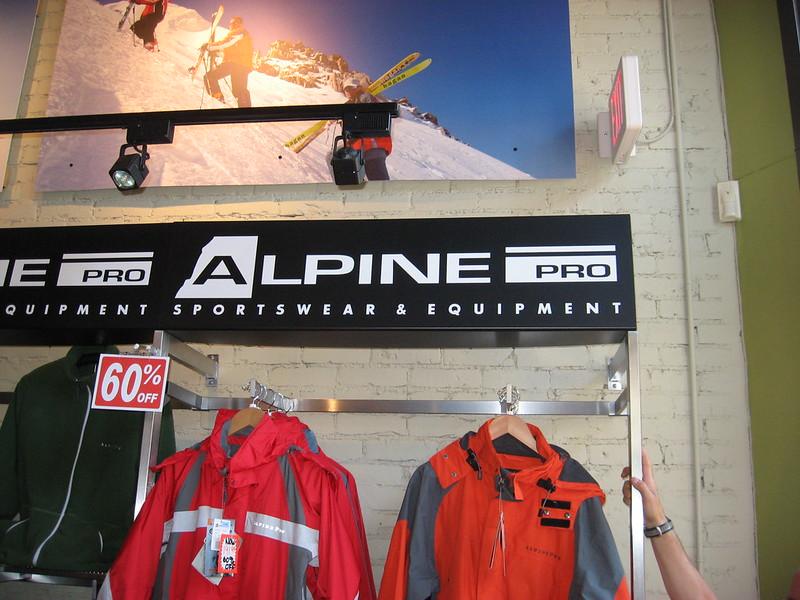 Alpine Retail and PoP