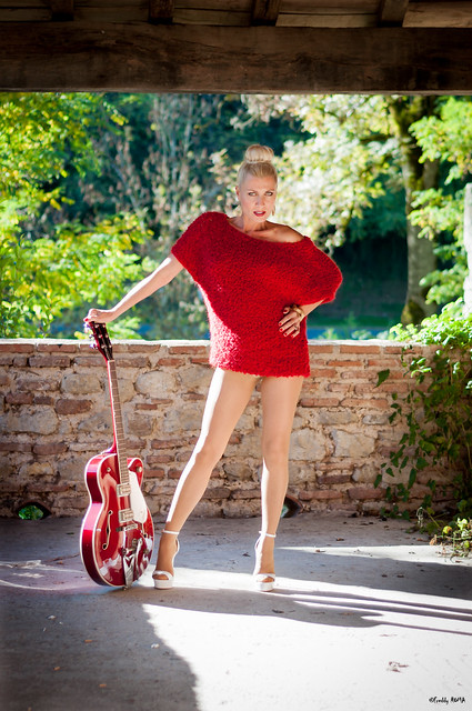 Pin Up Caroline - Lady in Red (26)