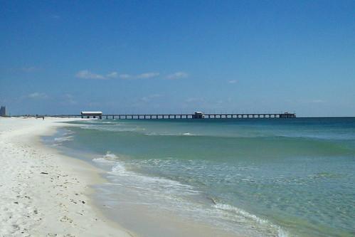 beach unitedstates alabama coastal whitesand gulfshores waterscape gulfcoast baldwincounty ilobsterit