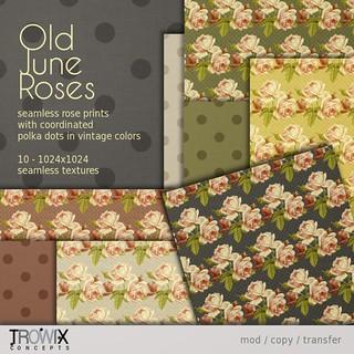Trowix - Old June Roses VendLg