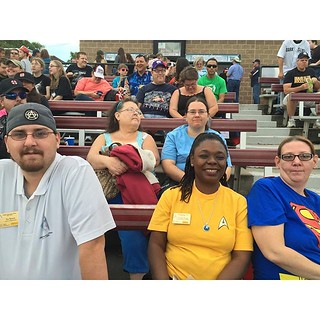 Several members of the #USSZebulonPike crew enjoying the Sky Sox game. / on Instagram https://instagram.com/p/7RSOIQMmq_/