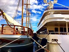 Fancy one of these boats in Monaco?  Lots of luxury here! #upsticksandgo #boats #monaco #montecarlo #luxury #travel #richandfamous #traveltheworld #travelgram #michfrost #exploring #instatravel #instagood