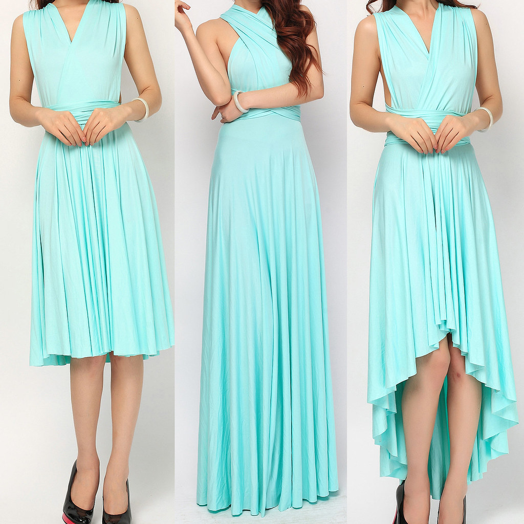 7ae2989a883 Convertible bridesmaid dress