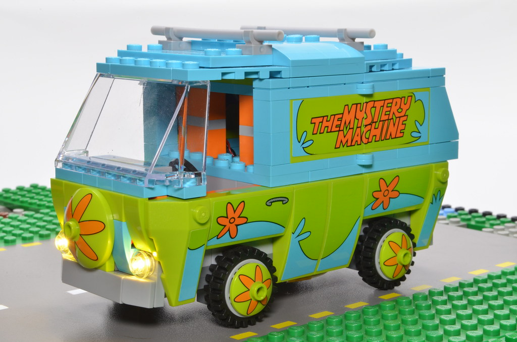 Mystery Lego Doo Wireless Two Scooby Machine PowerUsing W MVqUzpS
