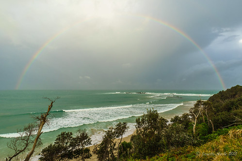 sunset sea storm beach water clouds coast rainbow rocks australia coastal nsw newsouthwales 2015 yuraygirnationalpark diggerscamp sonya7r janetteasche