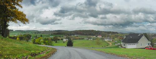 rockbridgecounty virginia va usa road rain weather cloudy landscape view