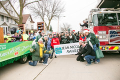2015 UWGB Holiday Parade Float