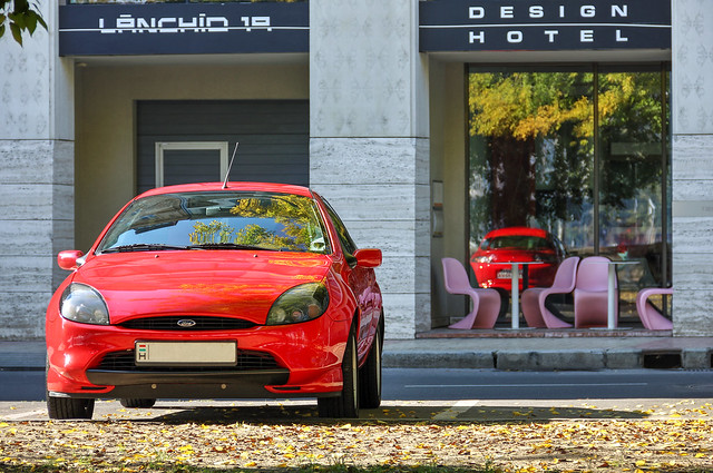 Ford Puma - front view HDR