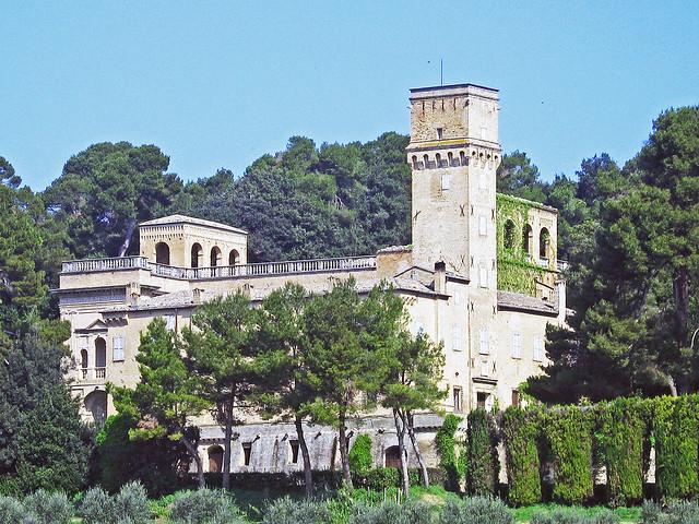 Villa Imperiale near Pesaro - distant view