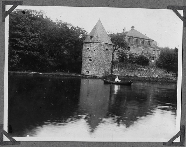 Archiv Chr006 Wasserschloss Hardenberg in Velbert, 1926