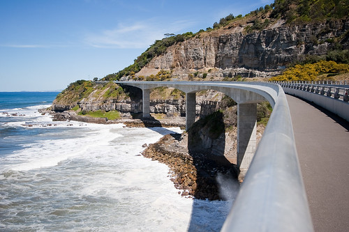 On the Sea Cliff Bridge looking south | by Martin7d2
