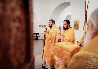 Литургия в Спасском соборе 380