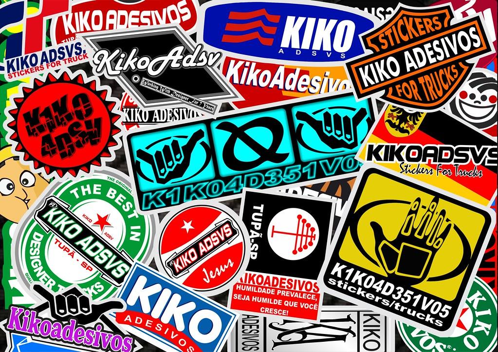 Stickr Bomb Kiko Adesivos Kiko Adsvs Desenhos Flickr
