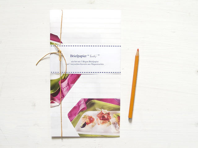 SUHI - a set of recycled note paper
