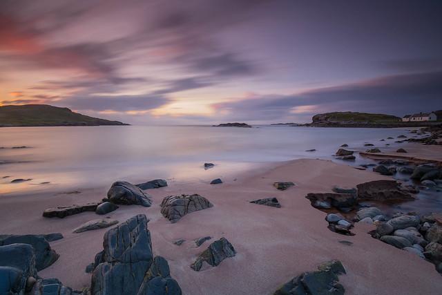 Clashnessie Bay Sunset..