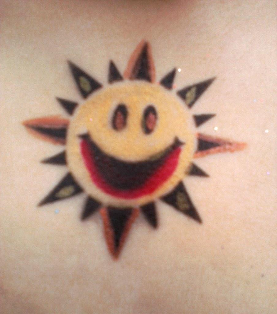 6831ca15debe0 Image08062011161402 | Happy face sun tattoo | Lynne Bailey | Flickr