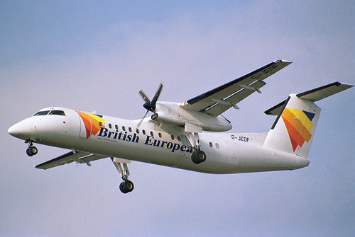 British European DHC-8-300 | by Wiggy66