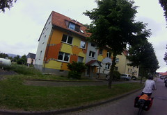 colourful house, Germany, June 2015