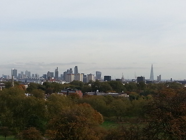 City from Primrose Hill