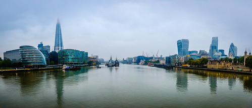 panorama mist towerbridge thecity riverfront thamesriver theshard