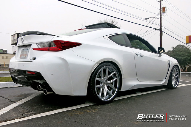 Lexus RCF with 20in TSW Portier Wheels and Michelin Pilot Super Sport Tires