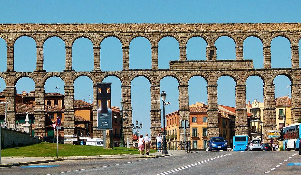 Acueducto romano de Segovia, ciudad Patrimonio de la Human… | Flickr