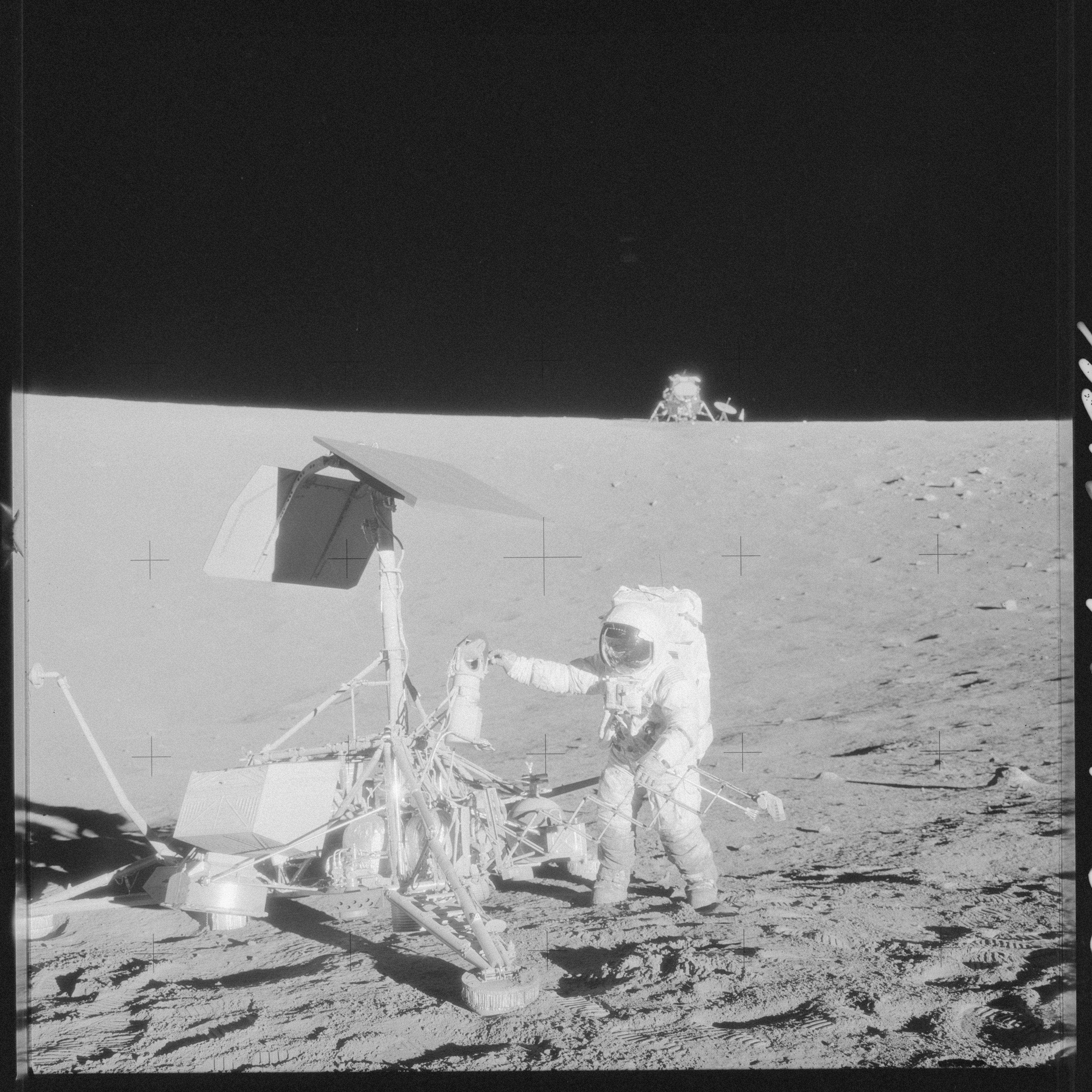 Candid Apollo 12 Original 1969 Lunar Surface Photographs Collectibles