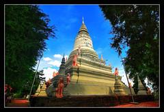 Phnom Penh K - Wat Phnom great Stupa