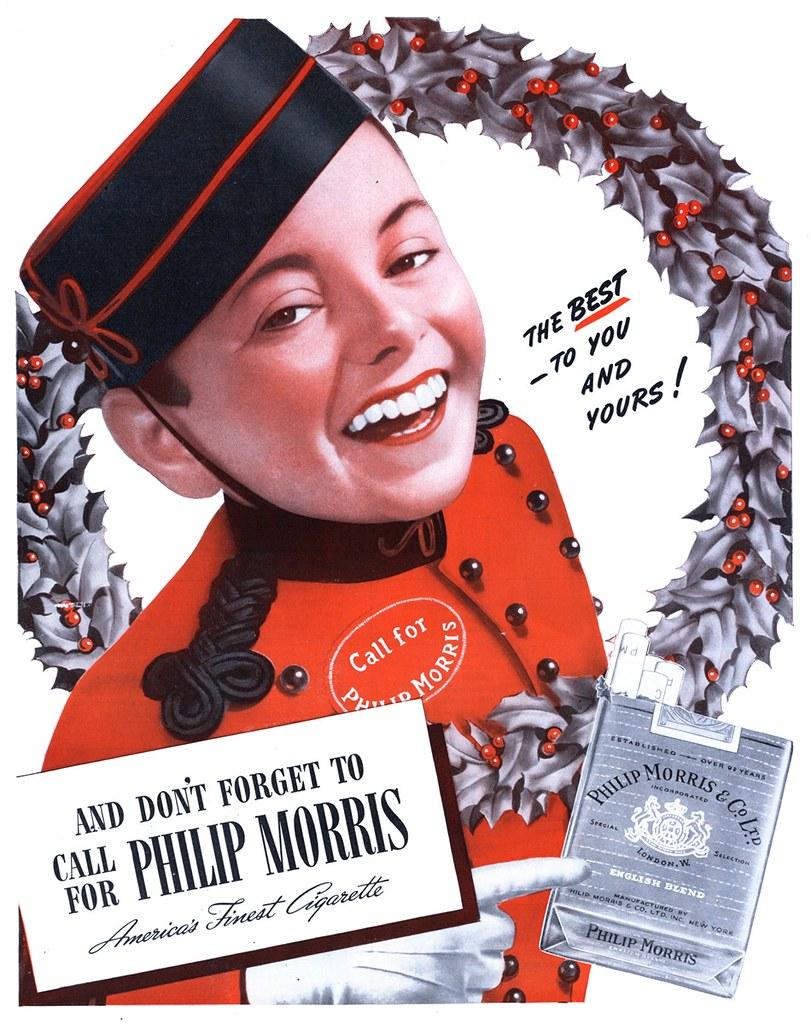 Philip Morris - published in Life - December 16, 1940