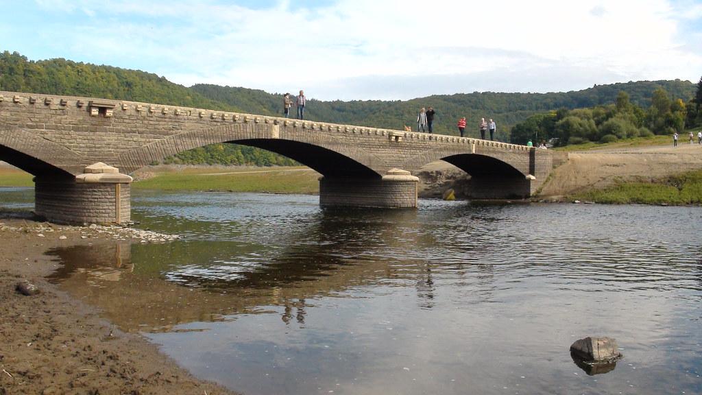 Edersee Brücke Asel