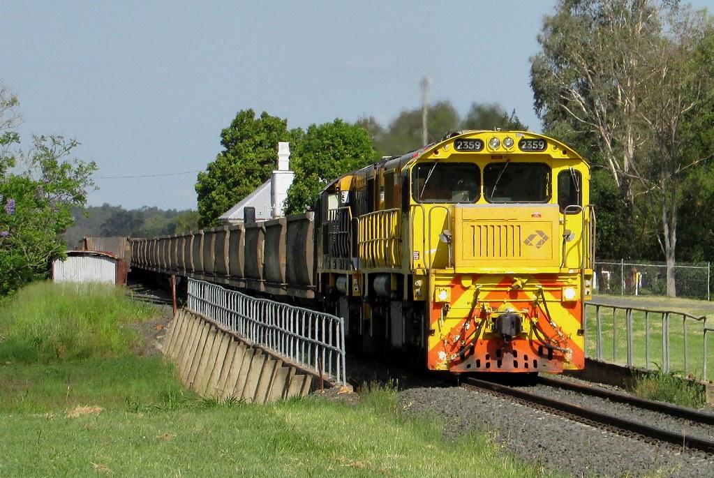 Aurizon - Empty Coal Service, Grandchester QLD by Shawn Stutsel