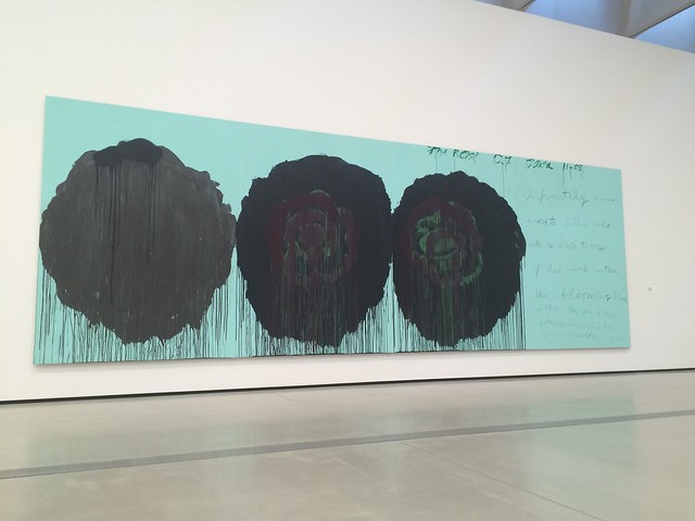 The Rose (V), Cy Twombly